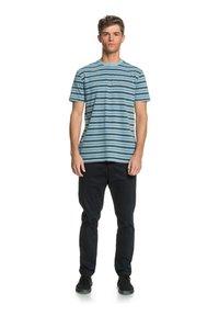 Quiksilver - CAPITOA - Print T-shirt - capitoa airy blue - 1