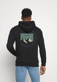 Only & Sons - ONSBRYAN LIFE HOODIE - Sweatshirt - black - 0
