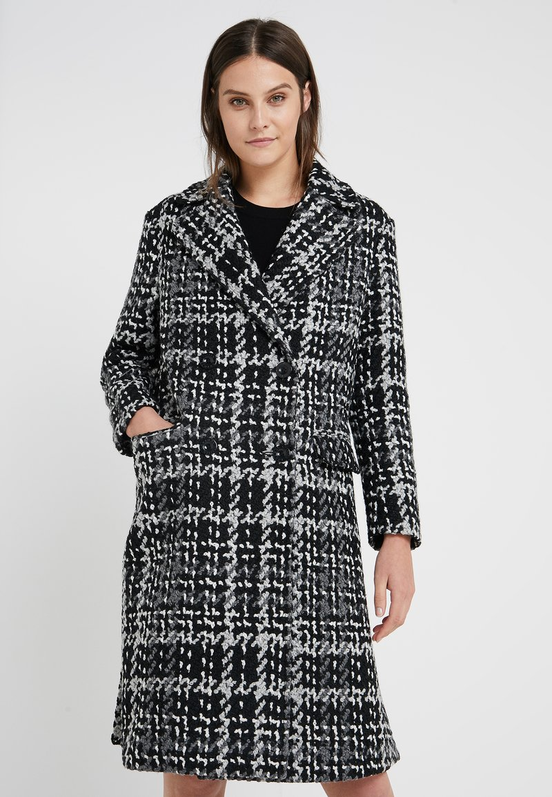 Steffen Schraut - NEW YORK FASHION CHECK COAT - Zimní kabát - multi color