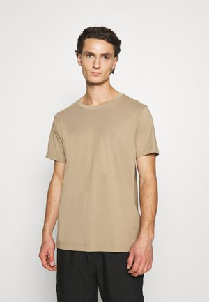 RELAXED  - T-shirt - bas - beige