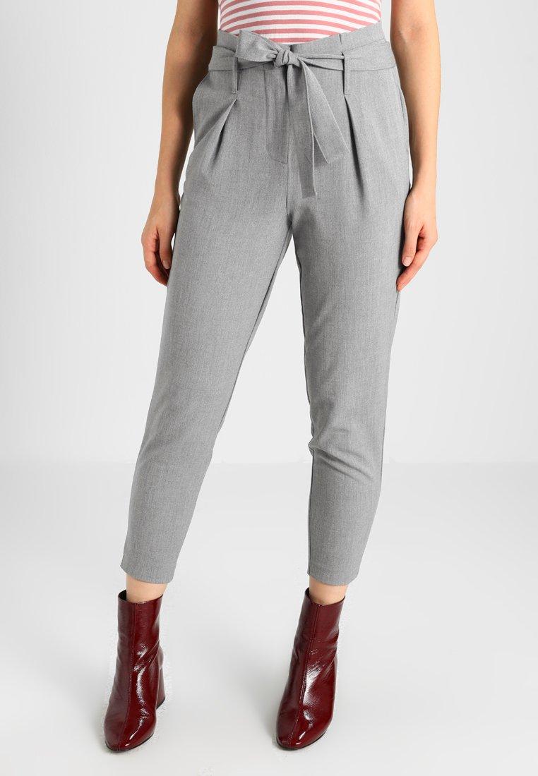 Damen ONLNICOLE PAPERBAG  - Stoffhose - light grey