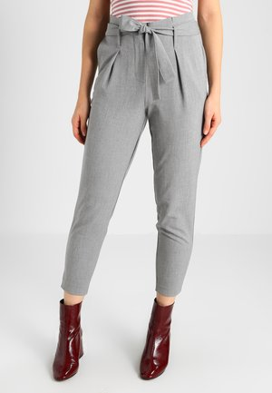 ONLNICOLE PAPERBAG  - Trousers - light grey