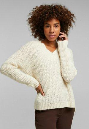 Pullover - cream beige