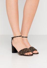 Casadei - Sandals - minorca nero - 0