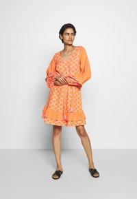CECILIE copenhagen - LIV - Day dress - tangerine - 1