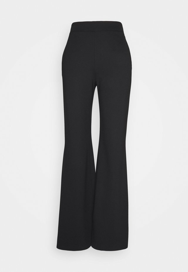 JANNIE TROUSER - Broek - black
