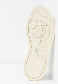 adidas Originals - SUPERCOURT - Sneakersy niskie - footwear white/maroon - 8