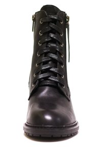 H.I.S - Šněrovací kotníkové boty - black - 1
