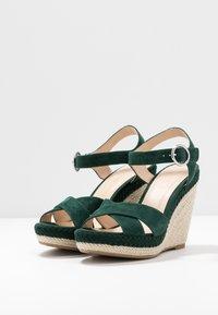 Anna Field - LEATHER - Højhælede sandaletter / Højhælede sandaler - green - 4