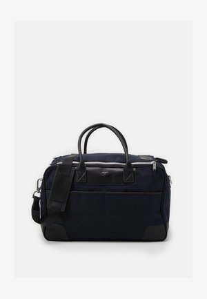 DOUBLE ZIP - Bolsa de fin de semana - navy/black