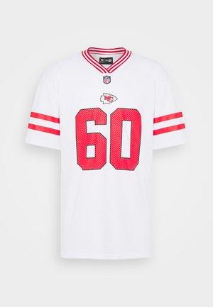 NFL KANSAS CHIEFS - Club wear - white