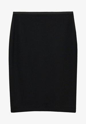 AUS PONTE-DI-ROMA - Pencil skirt - schwarz