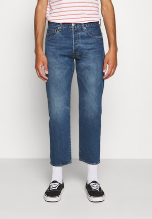 501 '93 CROP - Jeans Straight Leg - bleu eyes night