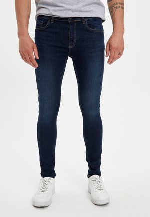 DEFACTO MAN SLIM FIT BLUE - Jeans Slim Fit - blue