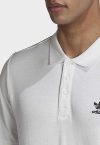 adidas Originals - TREFOIL ESSENTIALS POLO SHIRT - Polo shirt - white - 5