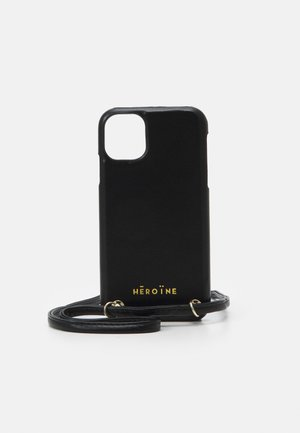 YUNA IPHONE 11 HANDYKETTE NECKLACE - Phone case - black