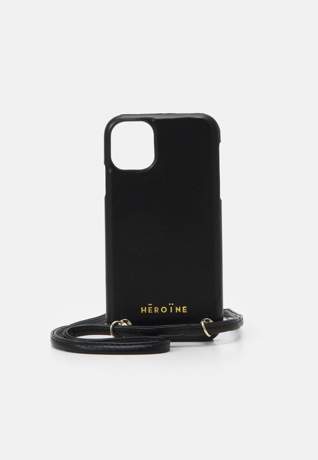 YUNA IPHONE 11 HANDYKETTE NECKLACE - Telefoonhoesje - black