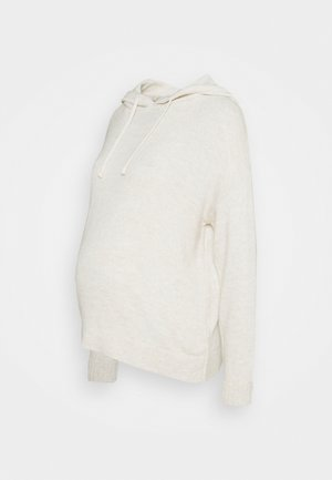 LOUNGE HOODY - Jumper - oatmeal
