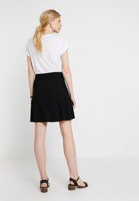 Esprit - BASIC SKIRT - A-line skirt - black - 2