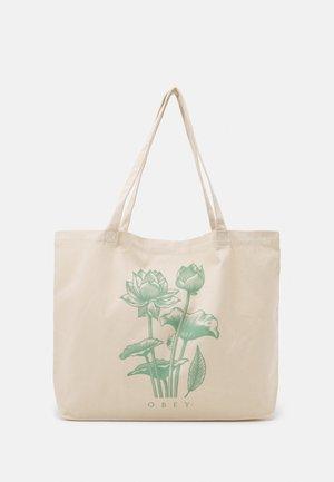 LOTUS SPIDER UNISEX - Shopping bag - natural