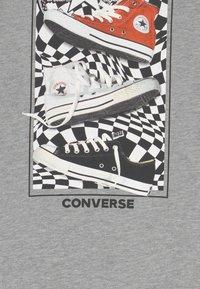 Converse - PHOTOREAL BITMAP TEE - T-Shirt print - dark grey heather - 2
