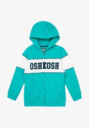 LAYERING - Zip-up hoodie - turquoise