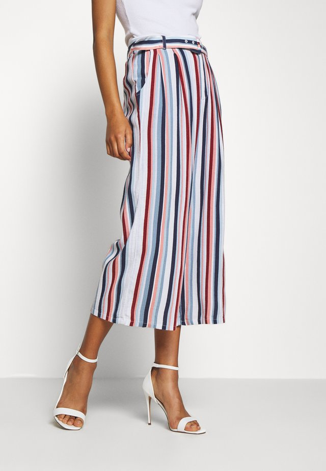 WIDE LEG  - Pantalon classique - multi-coloured