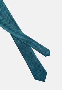Calvin Klein - MINI LATTICE TIE - Tie - hydro - 3