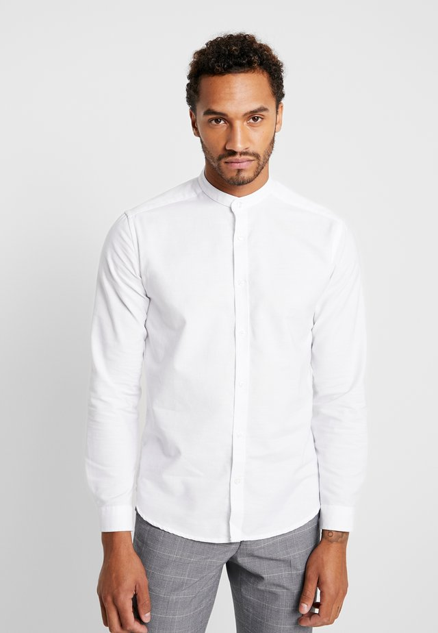 OXFORD MANDARIN - Camicia - white