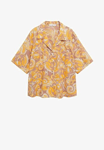 Skjortebluser - gelb