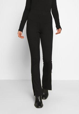 FINLEY TROUSERS - Kalhoty - black