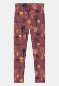 Lindex - MINI KIDS MUSHROOM - Leggings - Trousers - dusty lilac - 1