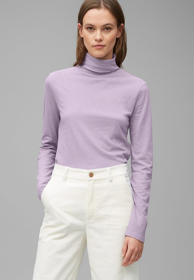 LONG SLEEVE TURTLE NECK - Longsleeve - peached purple