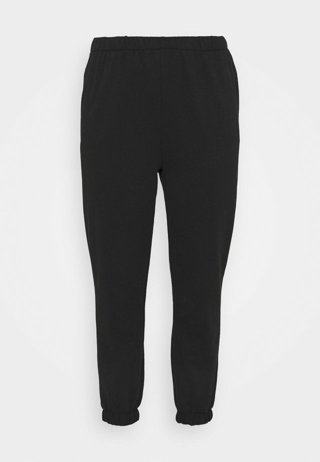 HIGH RISE TRACKPANT - Verryttelyhousut - washed black