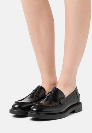 ALEX  - Loaferit/pistokkaat - black
