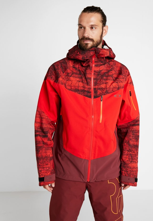 TIMBER SHELL JACKET - Snowboard jacket - fired forest