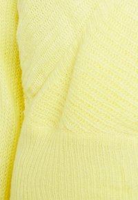 Glamorous - V NECK JUMPER - Jumper - yellow - 2