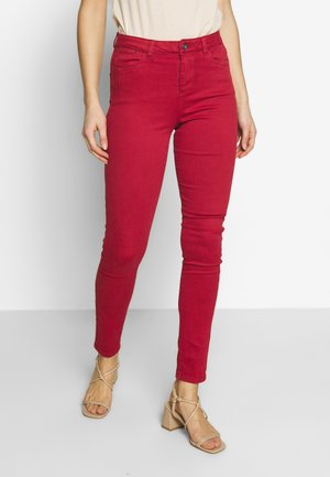 Jeans Skinny Fit - dark red