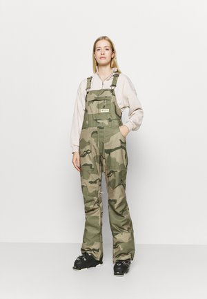 AVALON BIB BARREN - Snow pants - barren