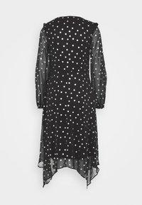 Wallis - SPOT DRESS - Day dress - black - 1
