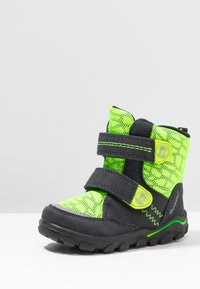 Lurchi - KEKO SYMPATEX  - Winter boots - atlantic/neon yellow - 2