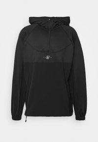 SIKSILK - TRANQUIL QUARTER ZIP - Långärmad tröja - black - 3
