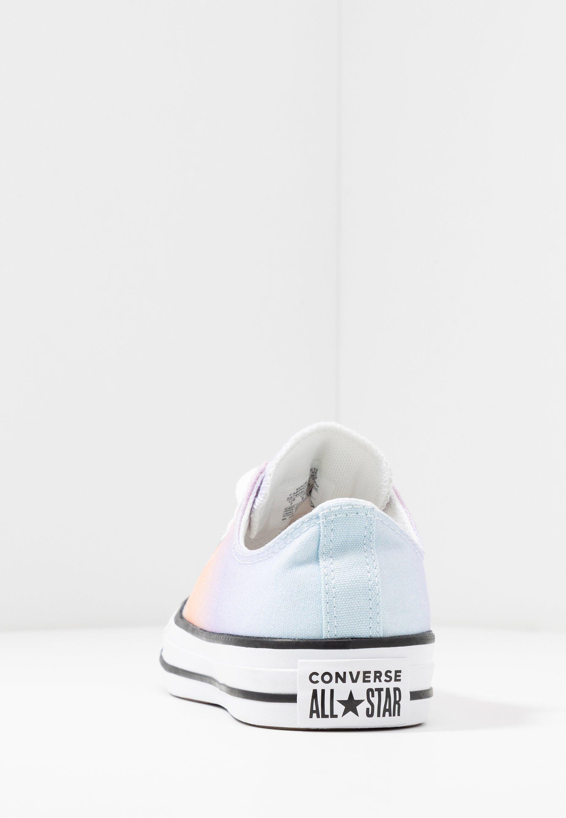 Converse CHUCK TAYLOR ALL STAR - Høye joggesko - white/multicolor/black