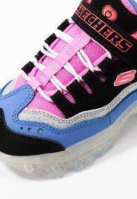 Skechers - ICE D'LITES - Trainers - black/purple/pink/silver - 6
