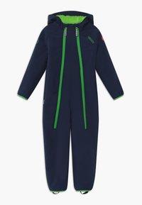 TrollKids - NORDKAPP OVERALL - Snowsuit - navy/green - 0