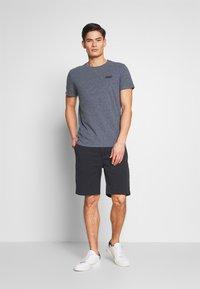 Superdry - VINTAGE CREW - Basic T-shirt - blue grindle - 1