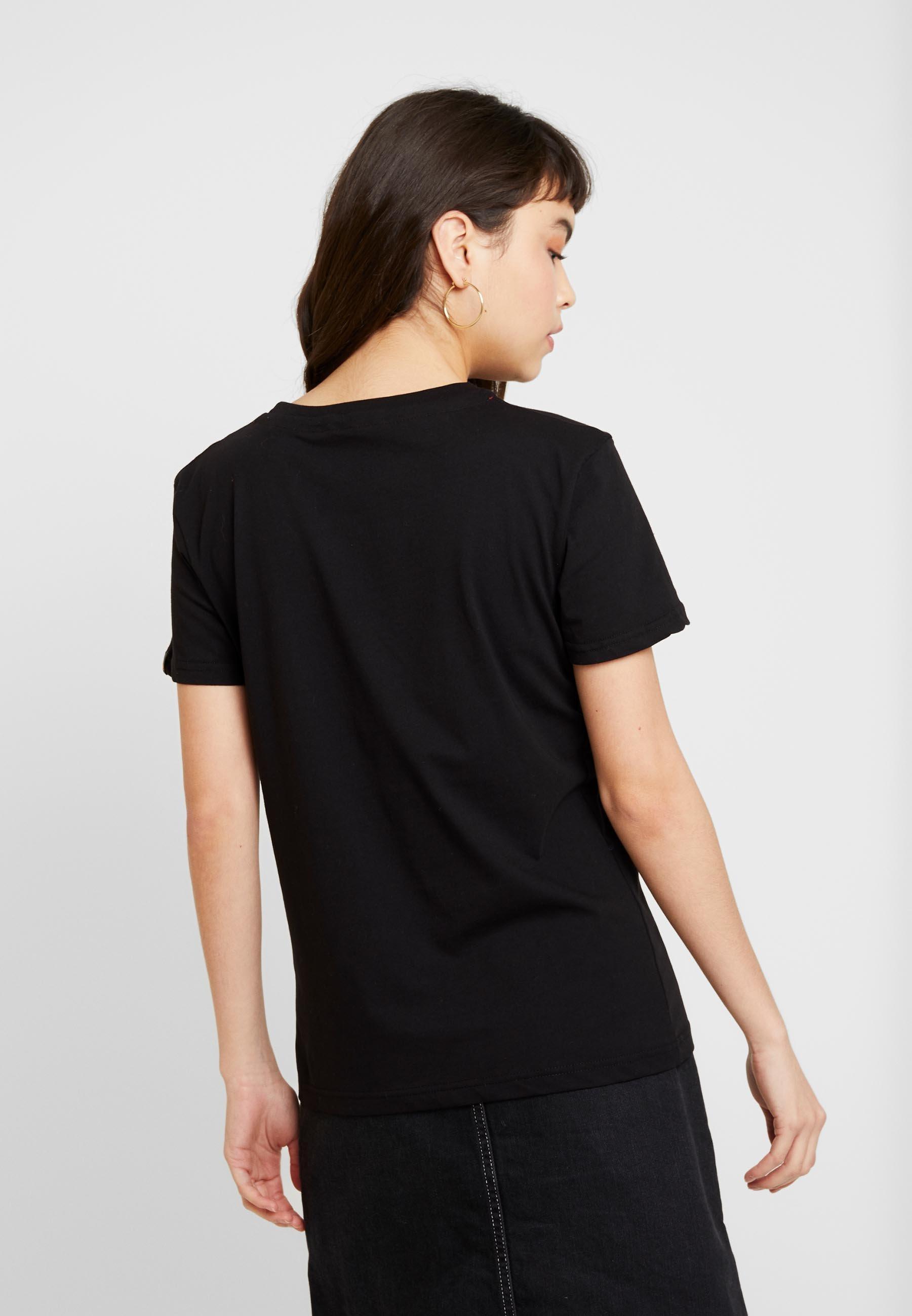 Alpha Industries New Basic - T-shirts Med Print Black/svart