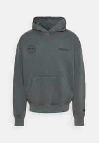 MIKE HOODIE UNISEX USED LOOK - Hoodie - vintage grey