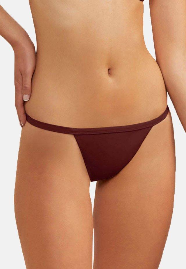 Bas de bikini - burgundy