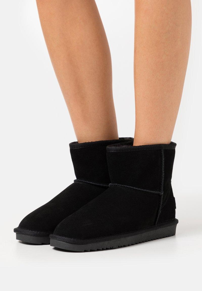 Esprit - LUNA MID BOOTIE - Classic ankle boots - black